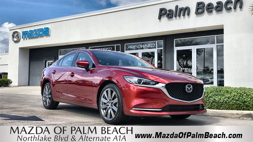 Certified Pre-Owned 2019 Mazda6 Grand Touring Reserve