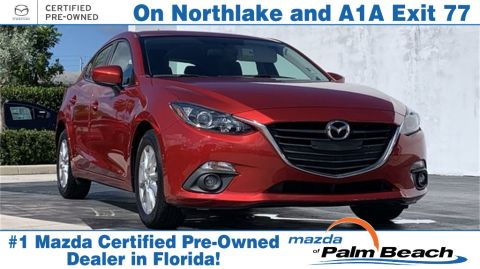 **Certified Pre-Owned 2015 Mazda3 i Touring FWD 4D Hatchback
