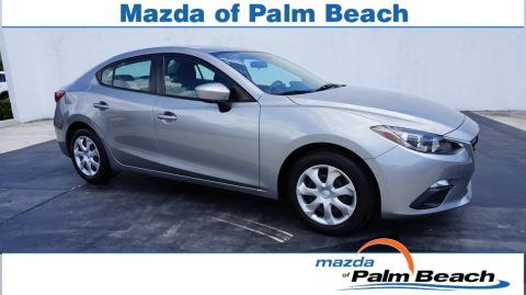 Certified Pre-Owned 2016 Mazda3 i Sport FWD 4D Sedan