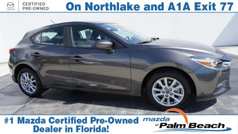 Certified Pre-Owned 2018 Mazda3 Sport Base