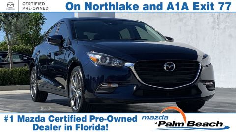 **Certified Pre-Owned 2018 Mazda3 Touring Base FWD 4D Hatchback