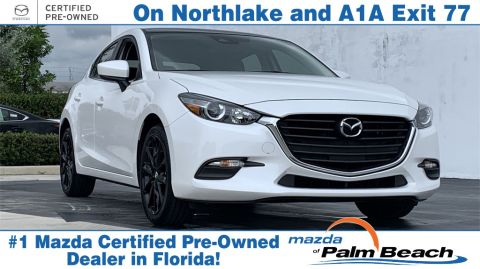 Certified Pre-Owned 2017 Mazda3 Touring Base