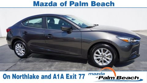 Certified Pre-Owned 2017 Mazda3 Sport Base FWD 4D Sedan