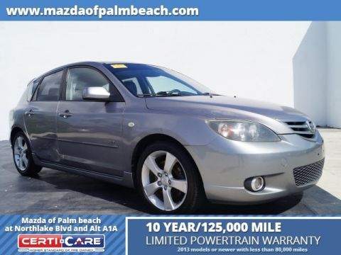 Pre-Owned 2005 Mazda3 s Base FWD 4D Hatchback