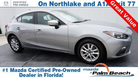 Certified Pre-Owned 2016 Mazda3 i Sport FWD 4D Hatchback