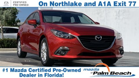 **Certified Pre-Owned 2016 Mazda3 i Touring FWD 4D Sedan