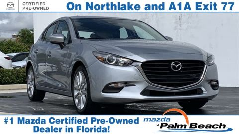 **Certified Pre-Owned 2017 Mazda3 Touring Base FWD 4D Hatchback