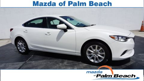 Certified Pre-Owned 2015 Mazda6 i Sport FWD 4D Sedan