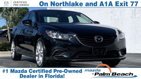 **Certified Pre-Owned 2017 Mazda6 Touring FWD 4D Sedan